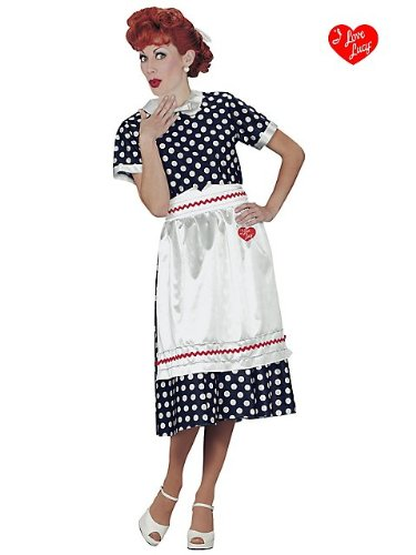 Fun-World-Womens-I-Love-Lucy-Classic-Polka-Dot-Dress-Costume-0