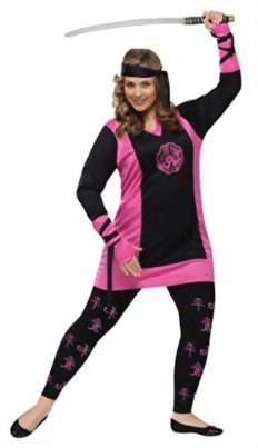 Funworld-Womens-Asian-Dragon-Ninja-Adults-Theme-Party-Fancy-Halloween-Costume-0
