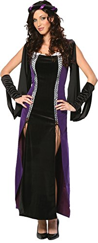 GTH Women's Lady Of Shallot Renaissance Theme Party Halloween Costume