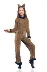 Girls-Saucy-Leopard-Cheetah-Cat-Cougar-Kitty-Dress-Up-Role-Play-Halloween-Costume-0