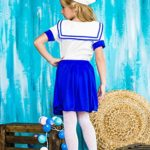 Girls-Sea-Sweetie-Sailor-Navy-Ship-Mate-Dress-Up-Role-Play-Halloween-Costume-0-2