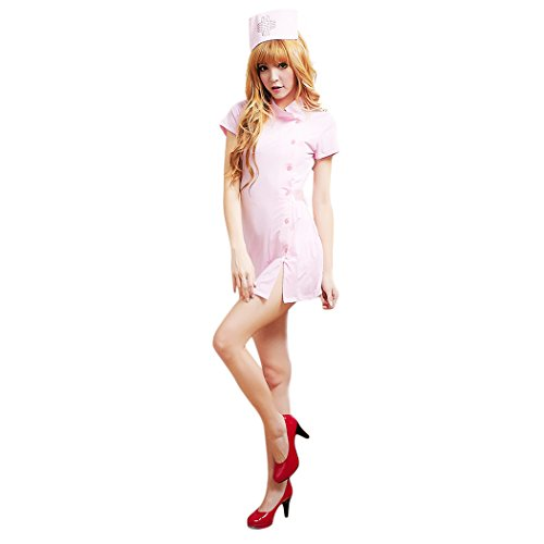 HTER-Womens-Sexy-Nurse-Dress-Halloween-Sweet-Party-Cosplay-Costume-Outfit-With-Accessories-0