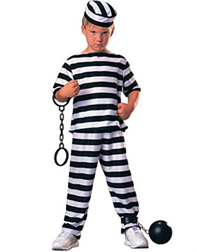 Haunted House Child Prisoner Costume