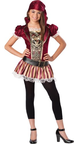 InCharacter Costumes, LLC Tween's Swashbucklin Sass Dress Set