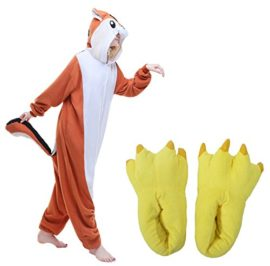 JINGCHENG-Halloween-Cosplay-Costume-OnePiece-PajamasSlipper-Monster-Paw-fits-57-75-0-0
