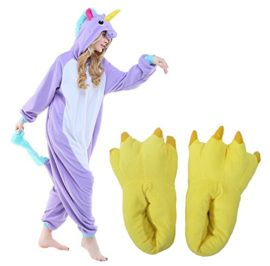 JINGCHENG-Halloween-Cosplay-Costume-OnePiece-PajamasSlipper-Monster-Paw-fits-57-75-0