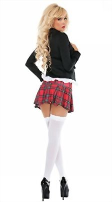JJ-GOGO-Adult-Naughty-School-Girl-Costume-Sexy-4-Piece-Student-Uniform-Set-0-3