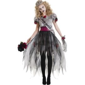 Junior-Girls-Prom-Zombie-Halloween-Costume-Size-Large-13-15-0-0