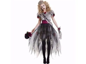 Junior-Girls-Prom-Zombie-Halloween-Costume-Size-Large-13-15-0
