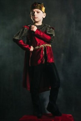 Kids-Boys-King-Arthur-Halloween-Costume-Medieval-Prince-Dress-Up-Role-Play-0-1