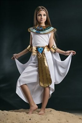 Kids-Girls-Cleopatra-Halloween-Costume-Egyptian-Princess-Dress-Up-Role-Play-0-0