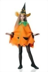 Kids-Juniors-Girls-Cute-Pumpkin-Halloween-Costume-Vegetable-Dress-Up-Role-Play-0
