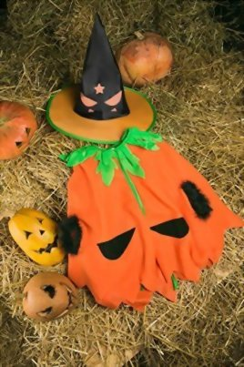 Kids-Juniors-Girls-Cute-Pumpkin-Halloween-Costume-Vegetable-Dress-Up-Role-Play-0-3