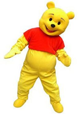 Kooplus-Winnie-the-Pooh-Bear-Mascot-Costume-Cartoon-Character-Costume-0