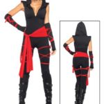 Leg-Avenue-Womens-Deadly-Ninja-Costume-Blackred-X-small-0