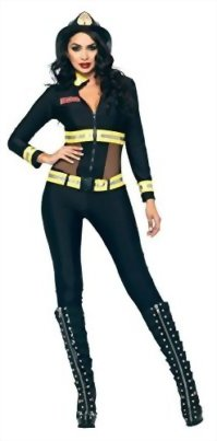 Leg-Avenue-Womens-Uniforms-Sexy-Red-Blaze-Firefighter-Fancy-Halloween-Costume-0