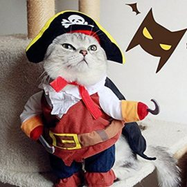 LingStar-Pet-Clothes-Caribbean-Pirate-Dog-Cat-Costume-Suit-Party-Apparel-Clothing-Plus-Hat-S-0-7