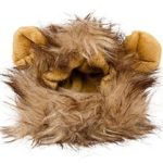 Lion-Mane-Costume-for-Cats-Dogs–FREE-Feathered-Catnip-Toy-Included–Cute-Halloween-Pet-Costume-for-Yorkies-Maltese-Puppies-Cats-Kittens-0-6