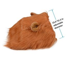 LionBuff-Lion-Mane-Costume-for-Dog-LionBuff-Dog-Wig-for-Holloween-Christmas-Party-Purchase-This-Item-Get-Your-Little-Lion-0-2