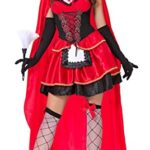Lusiya-Womens-Sexy-Little-Red-Riding-Hood-Fairy-Tale-Costume-0-0