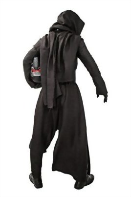 Mens-Kylo-Ren-Cosplay-Robe-Under-Tunic-Gloves-Scarf-Belt-Outfit-Costume-0-0