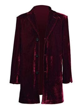 Mens-Vintage-Burgundy-Velvet-Coat-Costume-Halloween-Cosplay-Outfit-0-0