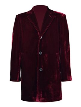 Mens-Vintage-Burgundy-Velvet-Coat-Costume-Halloween-Cosplay-Outfit-0