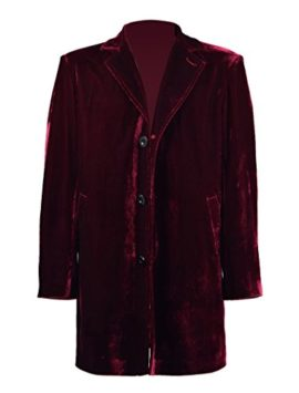 Mens-Vintage-Burgundy-Velvet-Coat-Costume-Halloween-Cosplay-Outfit-0-5