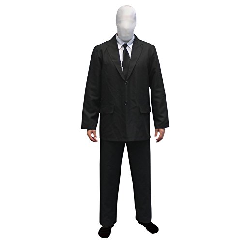 Morphsuits Men's Adult Slenderman Costume