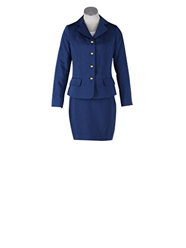 Mtxc Women's Flight Attendant Girl Culture Cosplay Airline stewardess Uniform 3rd