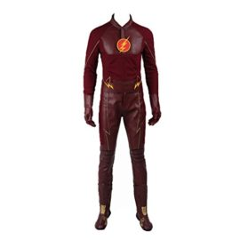 NTLCOS-Mens-Costume-For-Barry-Allen-The-Flash-Season-2-Halloween-Suit-Outfit-0