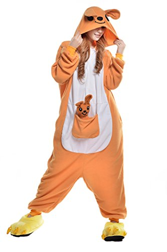 Newcosplay-Unisex-Adult-Cosplay-Pyjamas-Kangaroo-Halloween-Onesie-Cartoon-Costumes-0