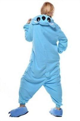 Newcosplay-Unisex-Adult-Cosplay-Pyjamas-Koala-Halloween-Animals-Onesie-Costumes-0-2