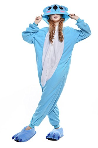 Newcosplay-Unisex-Adult-Cosplay-Pyjamas-Koala-Halloween-Animals-Onesie-Costumes-0