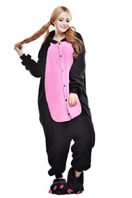 Newcosplay-Unisex-Adult-Cosplay-Pyjamas-Pig-Halloween-Onesie-Animals-Costumes-0-0