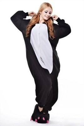 Newcosplay-Unisex-Black-Penguin-Pyjamas-Halloween-Costume-0-1