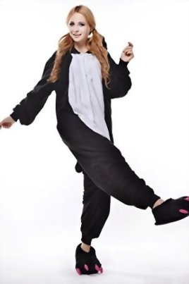 Newcosplay-Unisex-Black-Penguin-Pyjamas-Halloween-Costume-0-2