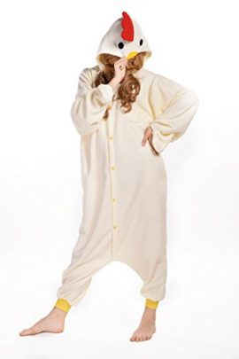 Newcosplay-Unisex-Chicken-Pyjamas-Halloween-Costume-0-2
