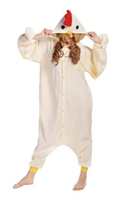 Newcosplay-Unisex-Chicken-Pyjamas-Halloween-Costume-0
