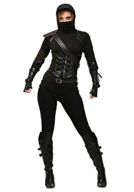Ninja-Costume-for-Adult-Women-Halloween-Assassin-Cosplay-Outfit-Masquerade-Accessory-0-0