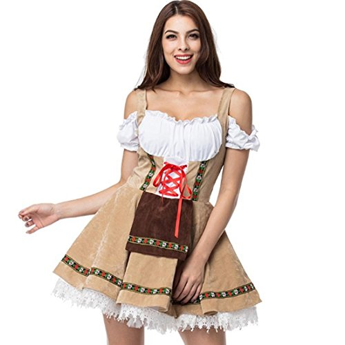 Oktoberfest Costume For Girl Festival French Maid Party Dresse Halloween Cosplay