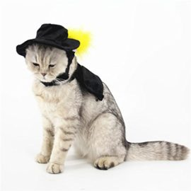 Ollypet-Cat-Halloween-Costume-For-Small-Dogs-Pet-Outfit-Cute-Fleece-Hat-and-Collar-Party-Event-Apparel-Funny-Clothes-Accessory-0-0