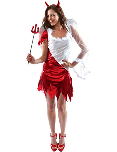 Orion Costumes Womens Sexy Angel Devil Ladies Halloween Party Fancy Dress Costume