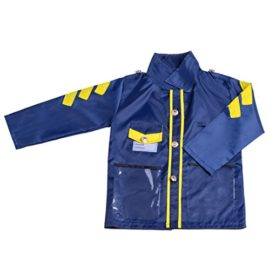 PROLOSO-Kids-Police-Officer-Role-Play-Costume-Halloween-Party-Pretend-Play-Set-0-0
