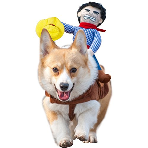 Pet-Costume-Dog-Costume-Pet-Suit-Cowboy-Rider-Style-by-DELIFUR-0-0
