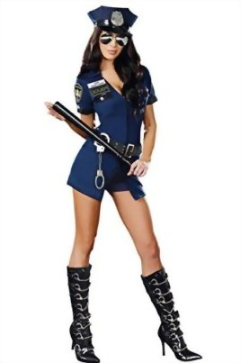 Police-Officer-Policewoman-Sexy-Cop-Halloween-Costume-0-0