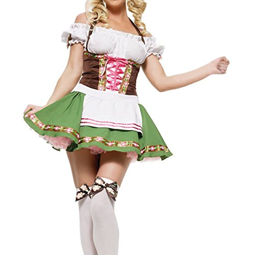 Quesera-Womens-Beer-Girl-Costume-Oktoberfest-Serving-Wench-Adult-Dirndl-Dress-0