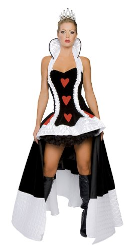 Roma Costume 3 Piece Enchanting Queen Of Hearts