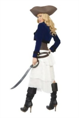 Roma-Costume-Deluxe-6-Piece-Colonial-Pirate-Costume-0-0