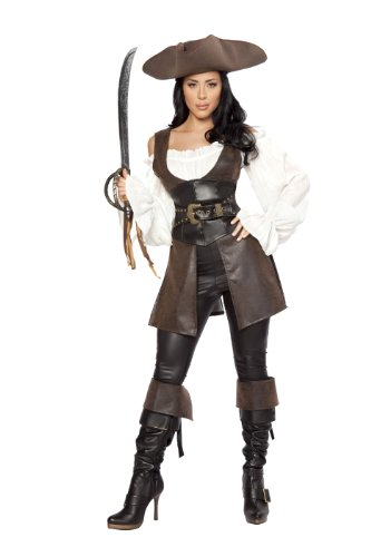 Roma Costume Deluxe 6 Piece Swashbuckler Costume
